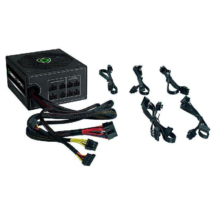 Fonte Gamemax GM1050 Semi-Modular 80 PLUS Silver