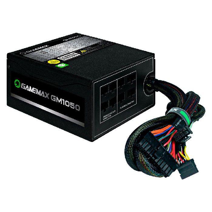 Fonte Gamemax GM1050 Semi-Modula 80 PLUS Silver