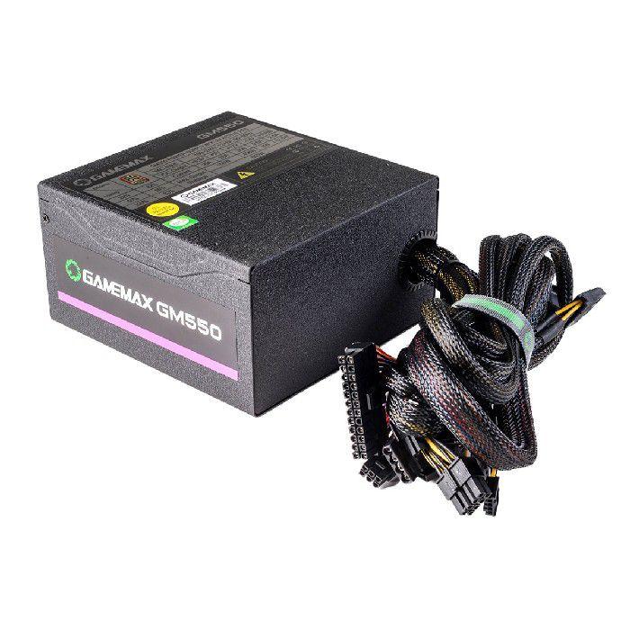 Fonte Gamer ATX Gamemax GM550 550W 80 Plus Bronze PFC Ativo