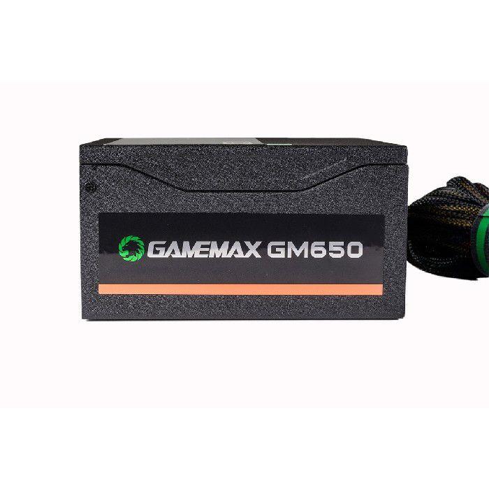 Fonte Gamer ATX Gamemax GM650 650W 80 Plus Bronze PFC Ativo