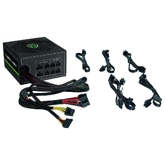 Fonte Gamer ATX Gamemax GM800 800W Semi-Modular 80 Plus Bronze PFC Ativo Preta