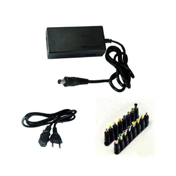 Fonte P/ notebook Universal Gv 120w (12-24v) Chav.08-plugs Ftd.219