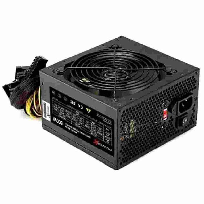 Fonte Real PowerX PX500 500W Bivolt Preta