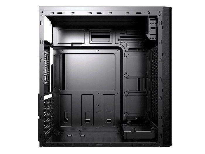 Gabinete Brazil Pc 1 Baia 3602 Black (2xusb + Audio) C/ Fonte