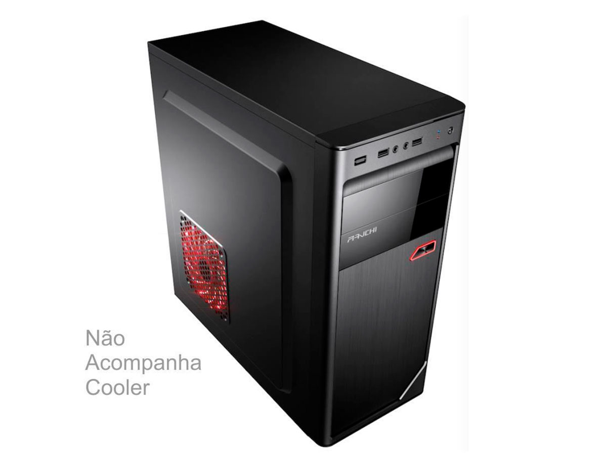 Gabinete Brazil PC 1 Baia 3602 C/fonte 230W