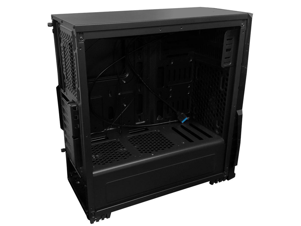 Gabinete Brazil PC Gamer GM8001 S/ Fonte Lateral em Acrilico