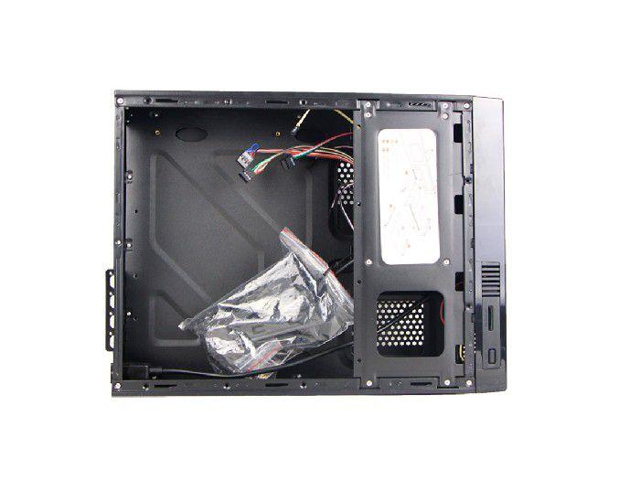 Gabinete Brazil PC Slim Micro ITX H307 Black C/ Fonte 200W