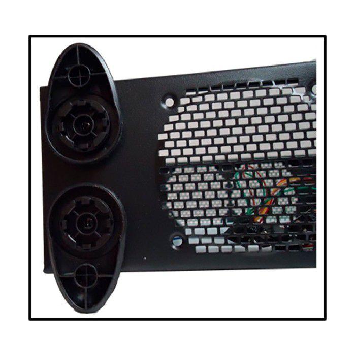 Gabinete Casemall Slim Atx S103-b Preto Case Rede S/fonte