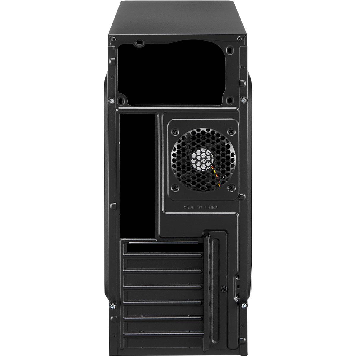 Gabinete Gamer Aerocool V3X Window ATX, Com FAN, Lateral em Acrilico, Preto
