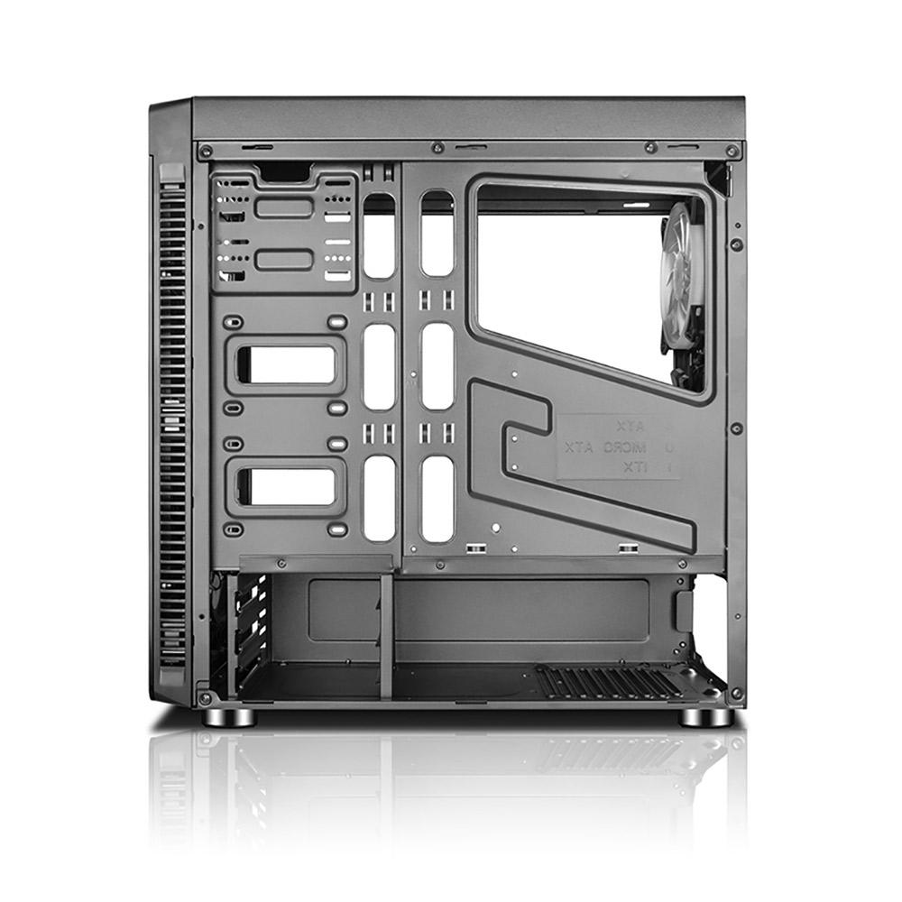 Gabinete Gamer C3tech MT-G1000BK, Lateral em Vidro, USB 3.0, S/ Fonte, RGB