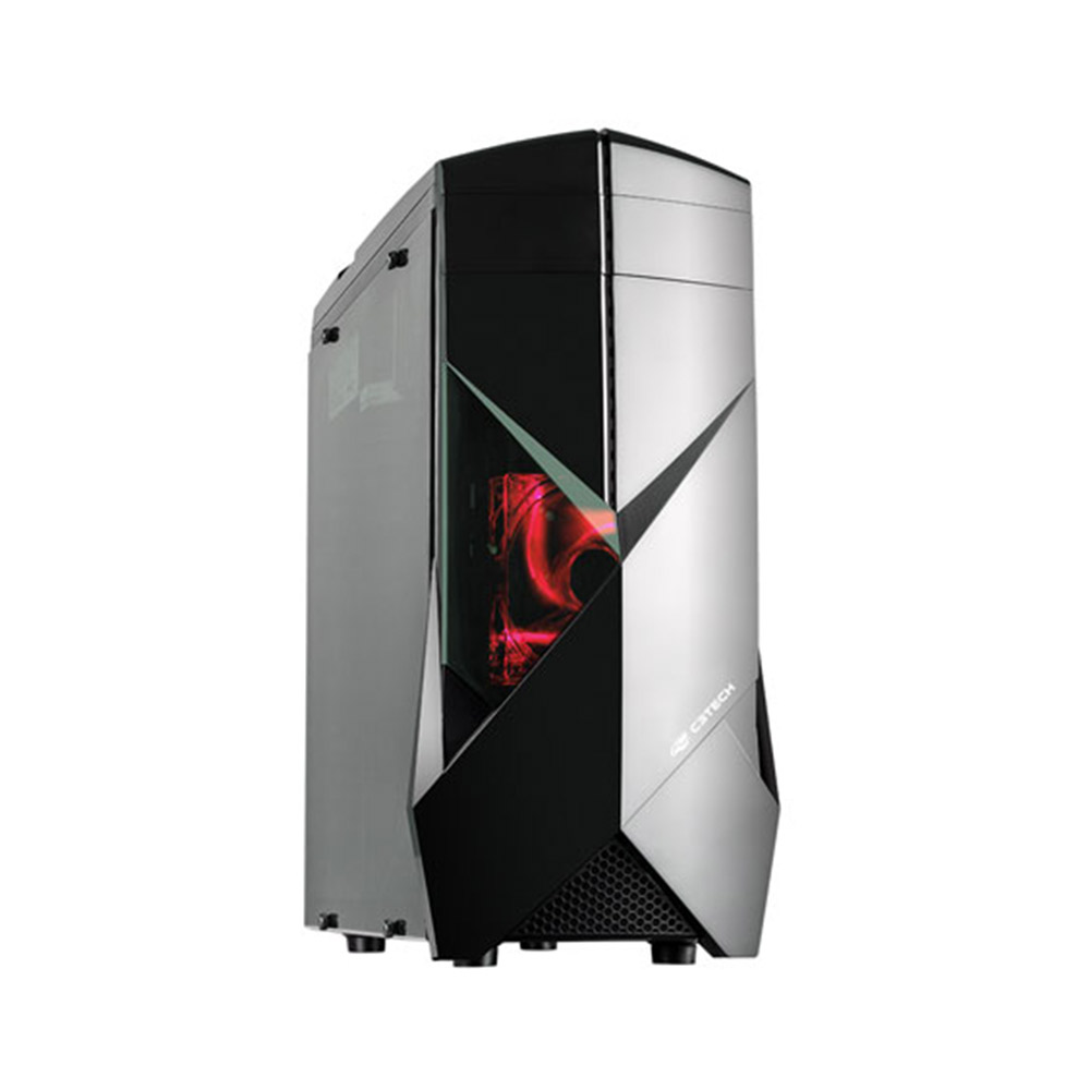 Gabinete Gamer C3Tech MT-G300BK S/FTE