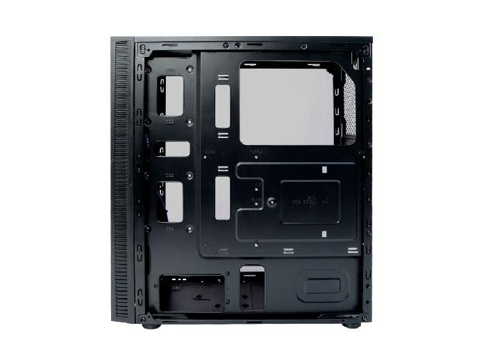 Gabinete Gamer C3Tech MT-G400BK, LED, Lateral em Acrílico, Sem Fonte