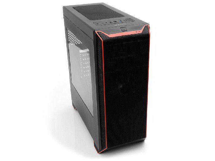 Gabinete Gamer C3tech MT-G660BK Sem Fonte