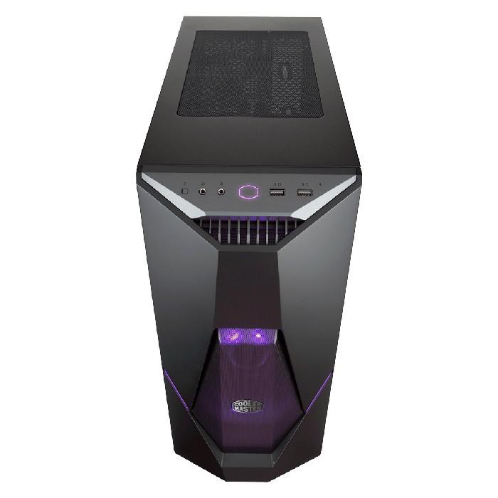 Gabinete Gamer Cooler Master MasterBox K500 LED RGB 3 Fans Vidro Temperado - MCB-K500D-KGNN-S00