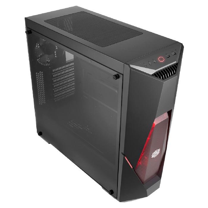 Gabinete Gamer Cooler Master MasterBox K500L 3 Fans LED Vermelho - MCB-K500L-KANN-S00