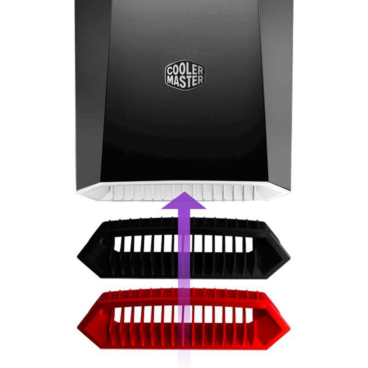 Gabinete Gamer Cooler Master Masterbox Lite 3.1 TG 1 Fan Vidro Temperado - MCW-L3S3-KGNN-00