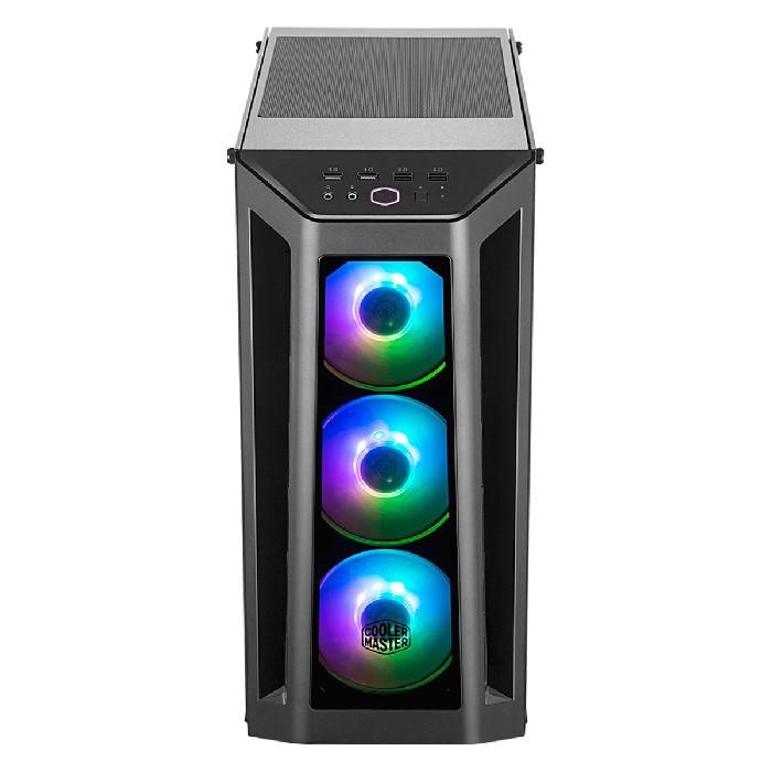 Gabinete Gamer Cooler Master MasterBox MB530P Laterais em Vidro 4 Fans ARGB - MCB-B530P-KHNN-S01