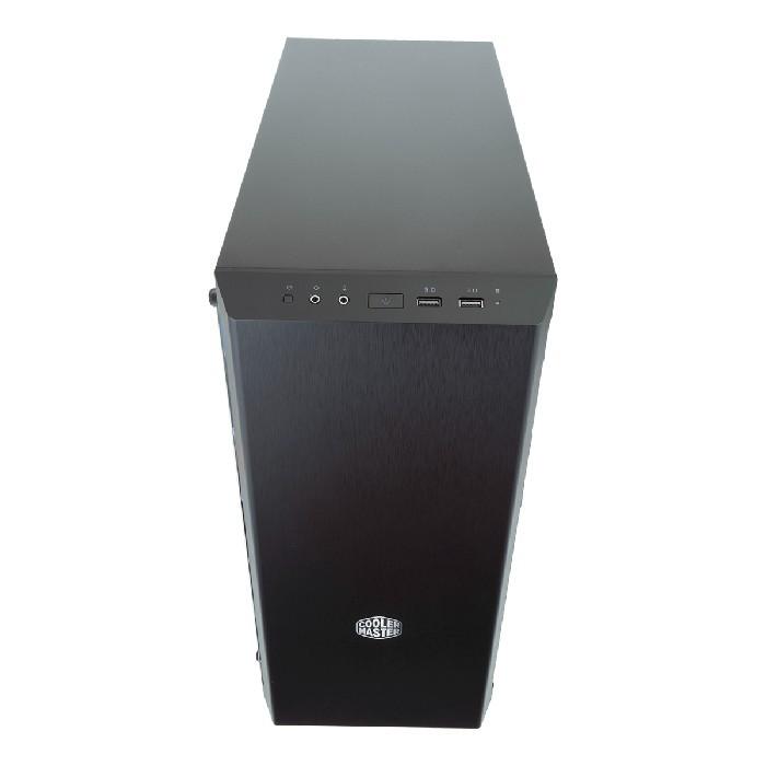 Gabinete Gamer Cooler Master MasterBox MB600L 1 Fan Preto e Azul - MCB-B600L-KANN-S01