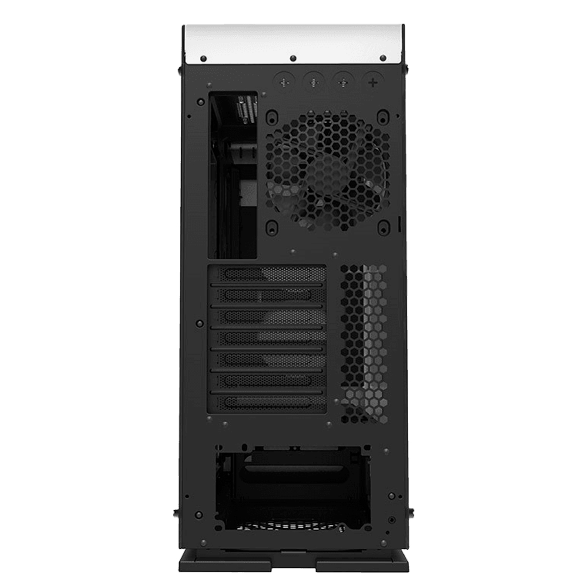 Gabinete Gamer Gamemax Vega M909-W Branco RGB 3 Fans