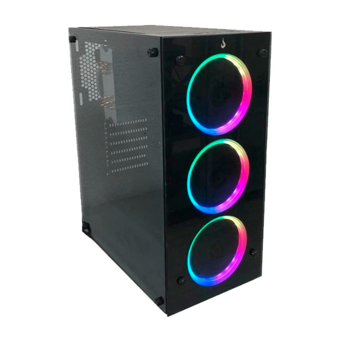 Gabinete Gamer Rise Mode Glass 06 RM-CA-06-FB Sem Cooler