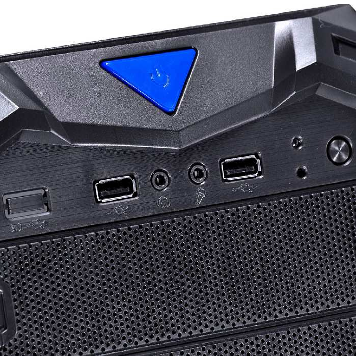 Gabinete Vinik Vx Gaming Aquila Azul Aqsfaz - 28925