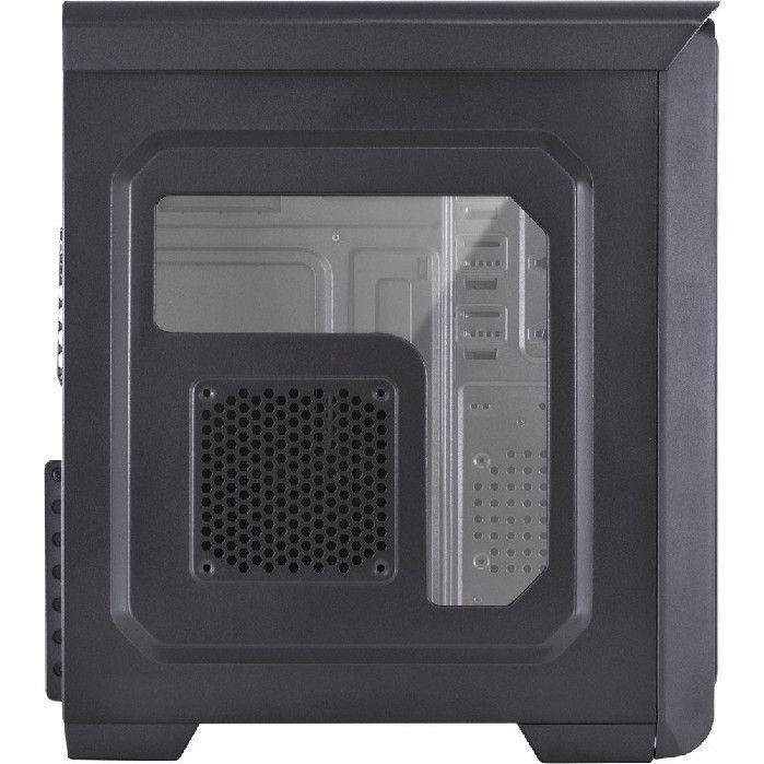 Gabinete Vinik Vx Gaming Hunter Pt Led Azul 24869