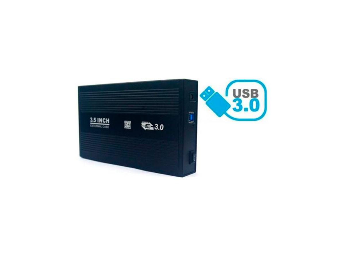"""Gaveta P/HD 3.5"""" USB 3.0 Gv GVT.716 Pto"""