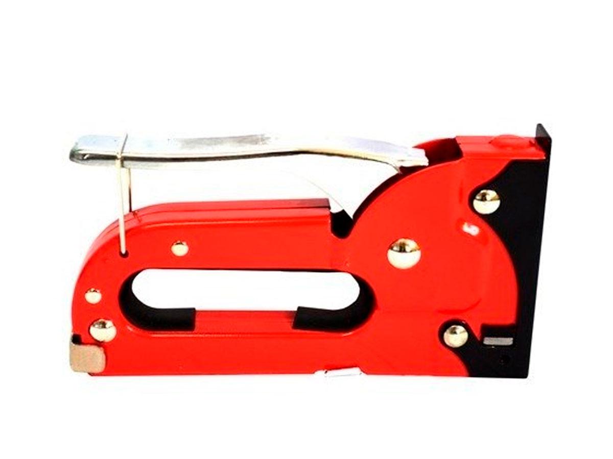 Grampeador Pistola Tapeceiro 15 cm Vermelho Kaz - 746004