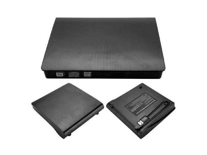Gravador Dvd Externo Rw 3.0 Fy Usb Slim Preto Gvt.1131