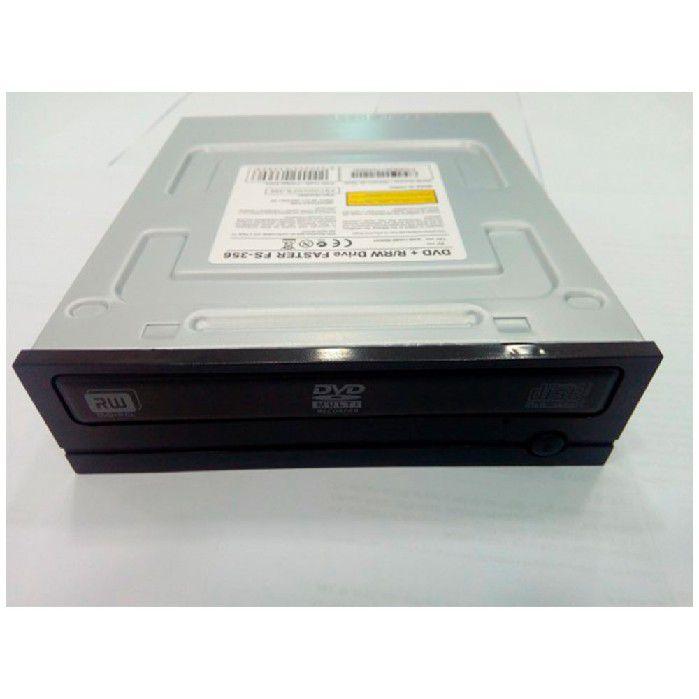 Gravador Dvd Sata 24x Faster Fs-356 Pto - Oem