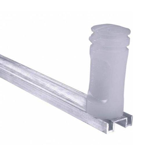 Haste para Cerca Elétrica M2 x 75cm com 4 Isoladores Confiseg