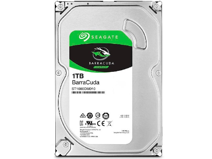 HD 1TB Seagate Barracuda  ST1000DM010 Sata III 7200RPM 64MB Cache