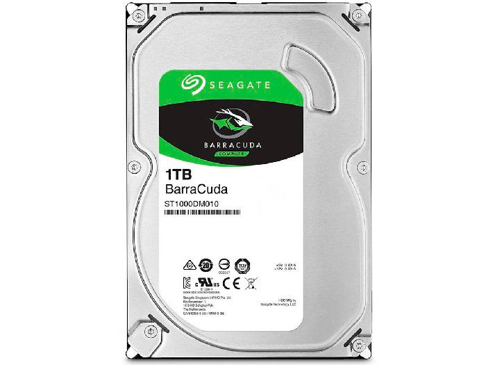 HD 1TB Seagate ST1000DM010 Barracuda 3.5 pol, SATA III 6 Gb/s 7200rpm 64MB Cache