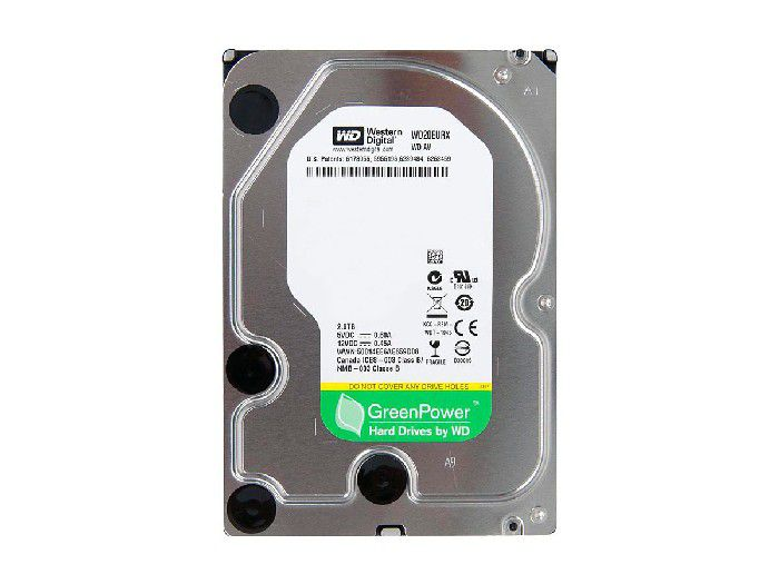 HD 2TB Western Digital Green Power Reemb WD20EURX