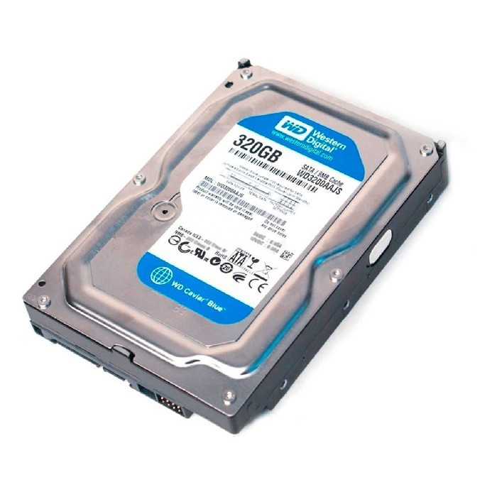 Hd 320GB Western Digital WD3200AAJS Sata II 7200RPM 8MB Cache - Reman.