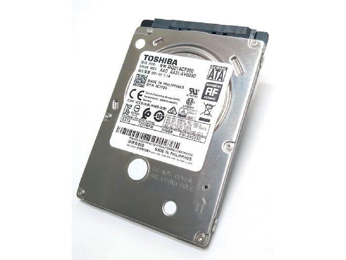 HD 500GB Toshiba 2,5 Notebook 7200 RPM MQ01ACF050
