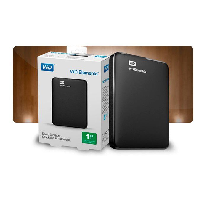 Hd Externo 1tb Western Digital Elements 3.0 2.5 Portatil