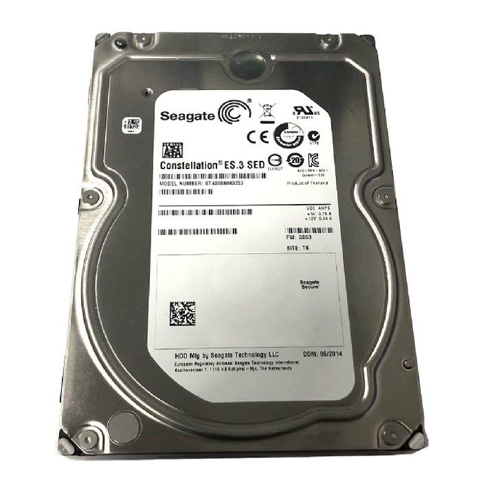 "HD Seagate Constellation ES.3 4TB Sata III 6GB/s 7200RPM 128MB 3,5"" - ST4000NM0053"