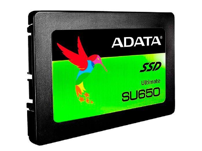 """HD SSD 120GB Adata Su650 120GB 2.5"""" Sata 6Gb/s ASU650SS-120GT"""