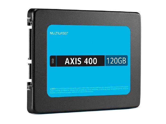 """Hd Ssd 120gb Multilaser Axis400 400mbs Sata Iii 2.5"""" Ss101"""