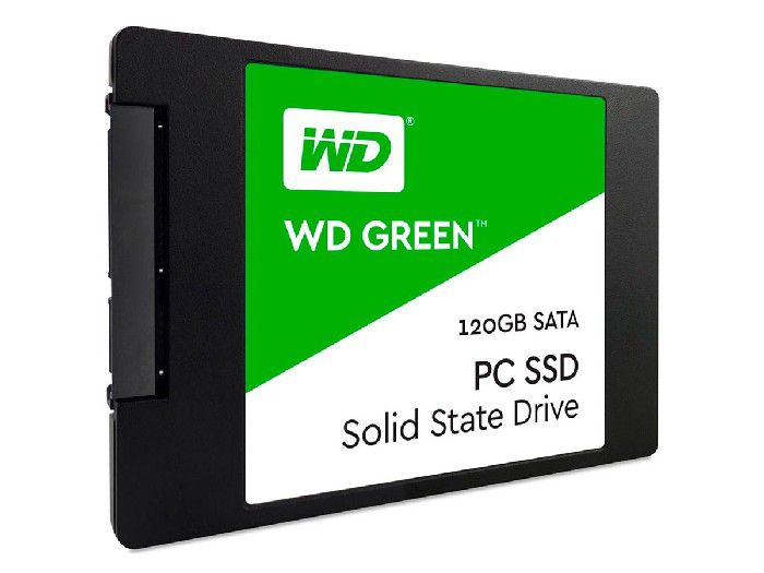 HD SSD 120GB Western Digital 2,5 WDS120G2G0A