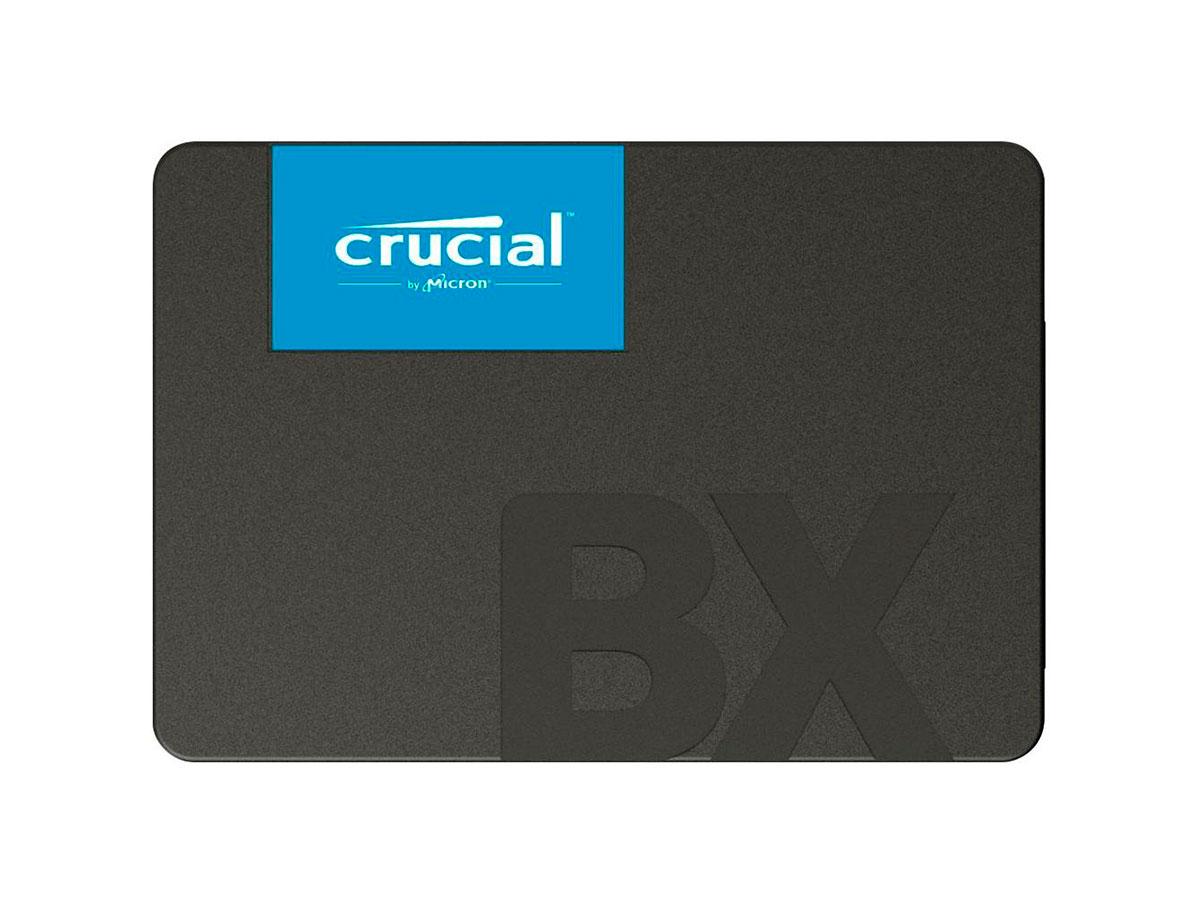 HD SSD 240GB Crucial, Leitura 540 MB/s, Gravação 500 MB/s - CT240BX500SSD1