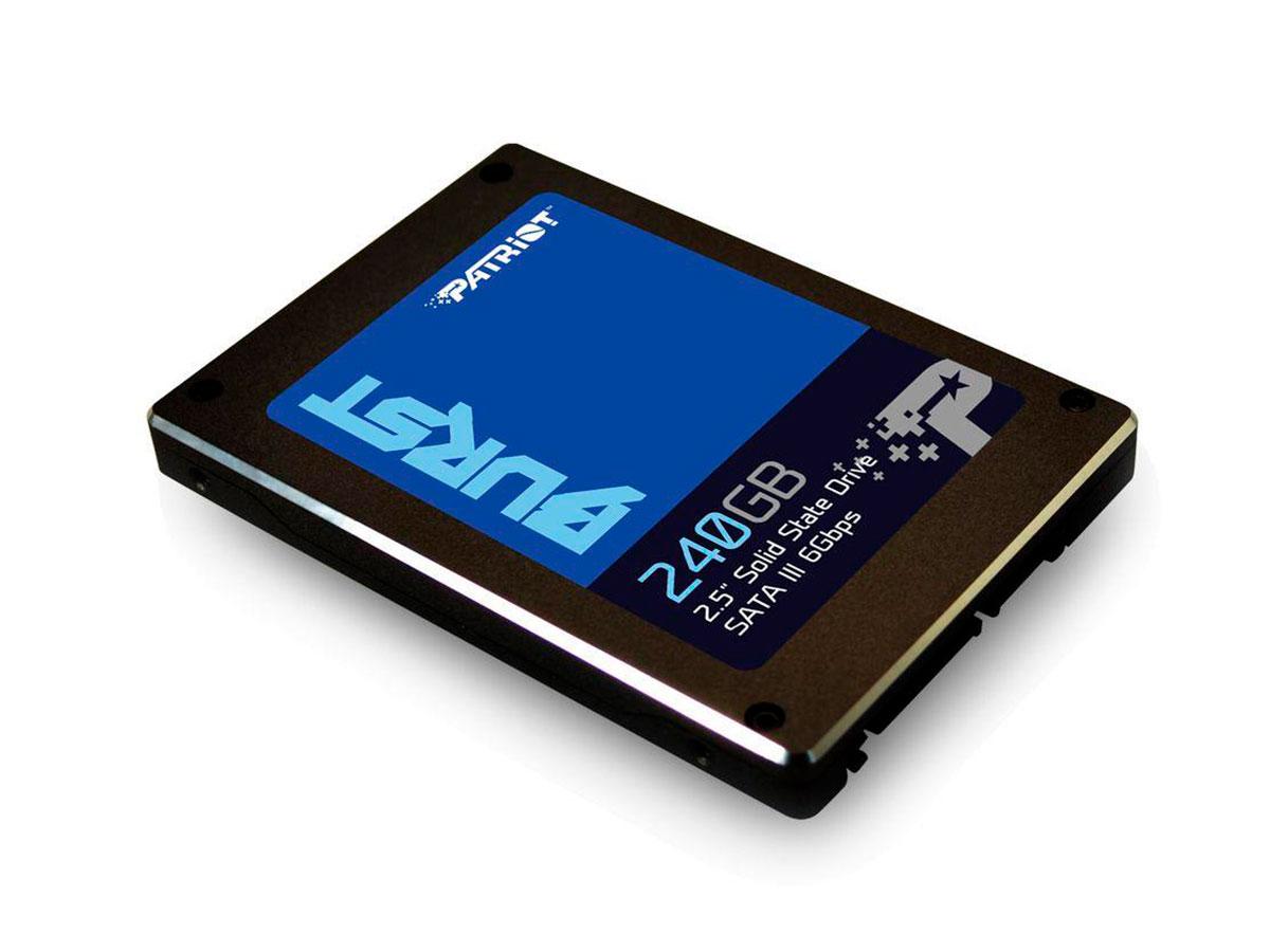 HD SSD 240GB SATA III 6 Gb/s Patriot Burst PBU240GS25SSDR