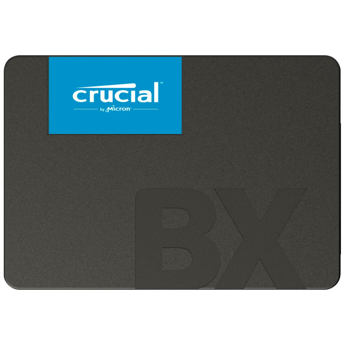 HD SSD Crucial BX500, 1TB, Leitura 540 MB/s, Escrita 500 MB/s, SATA 6 Gb/s, 2.5''