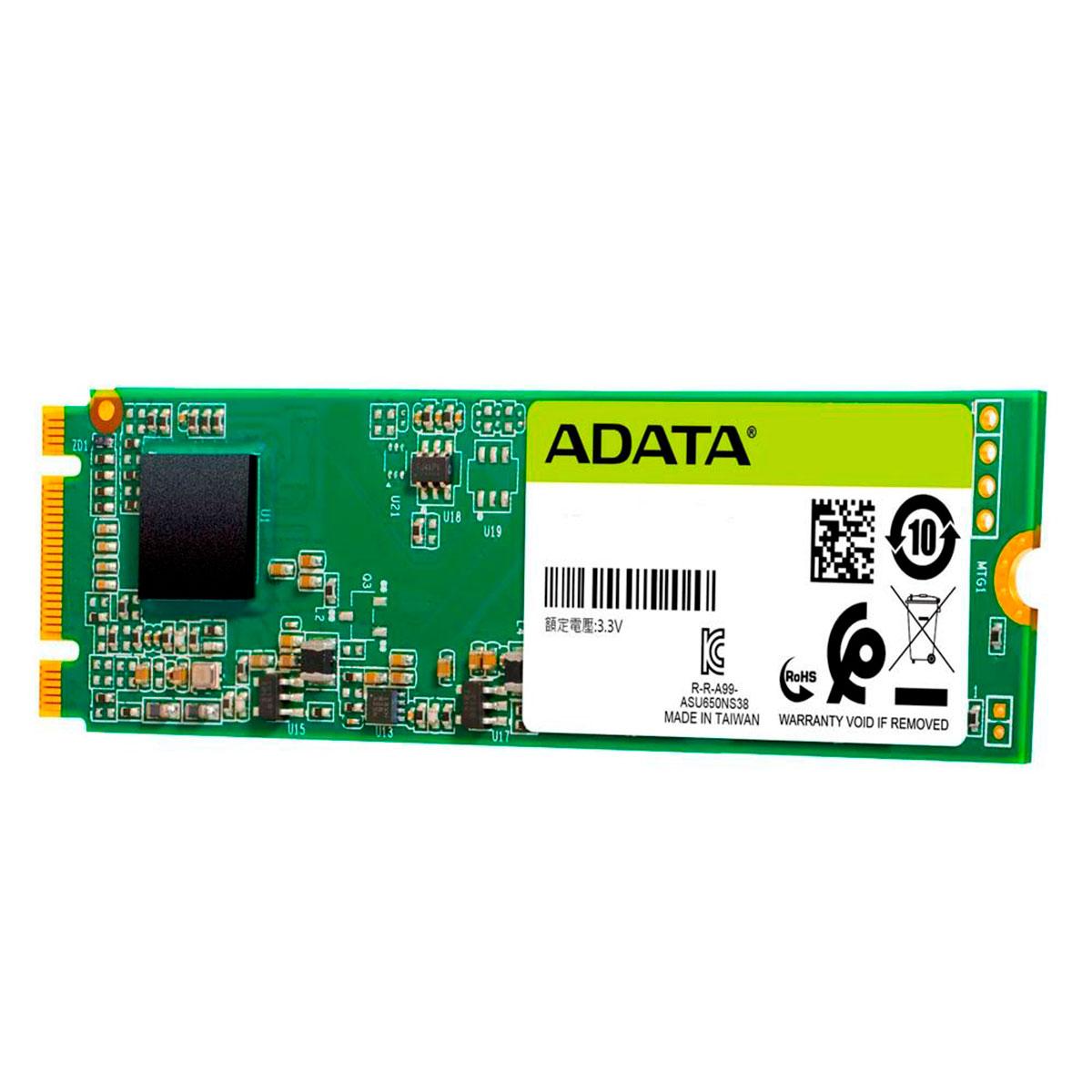 HD SSD M.2 120GB Adata Ultimate SU650 2280 SATA 3D Nand ASU650NS38-120GT-C