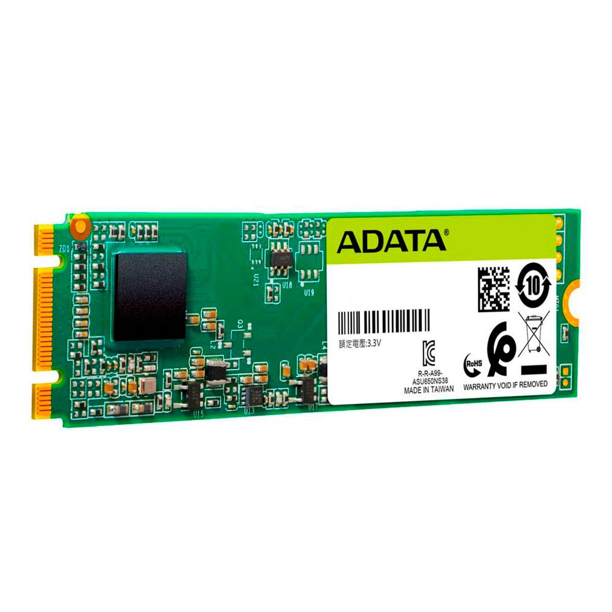 HD SSD M.2 240GB Adata Ultimate SU650 2280 SATA 3D Nand ASU650NS38-240GT-C
