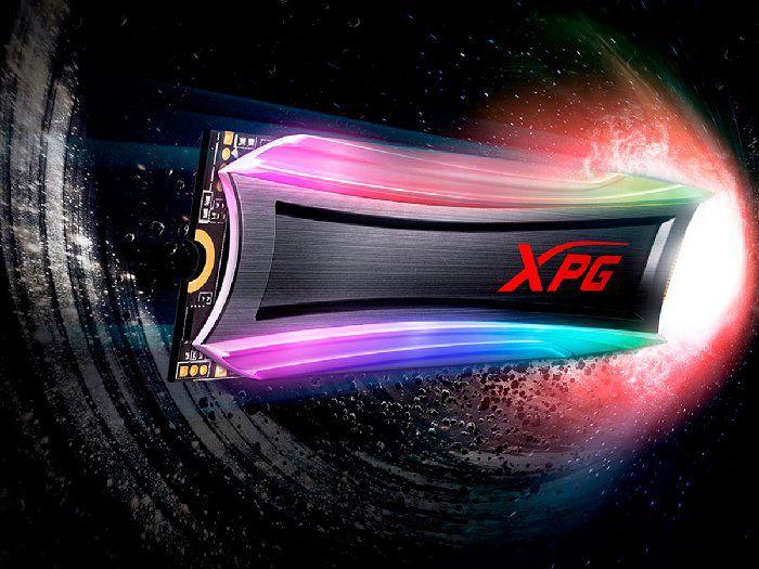 HD SSD M.2 512GB Adata Xpg Spectrix S40G AS40G-512GT-C