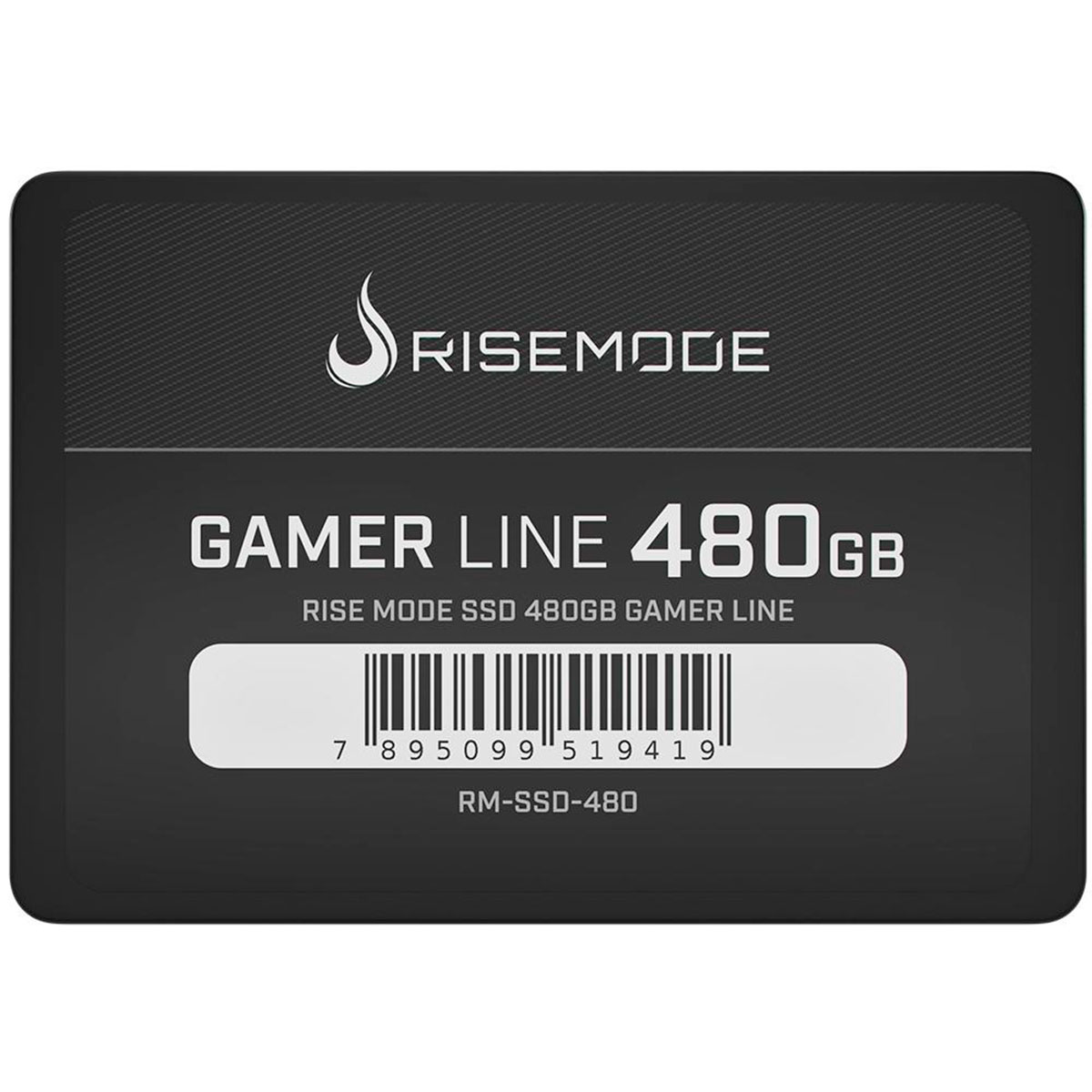 HD SSD Rise Mode Gamer Line 480GB Leitura 535MB/s Gravação 435MB/s - RM-SSD-480GB