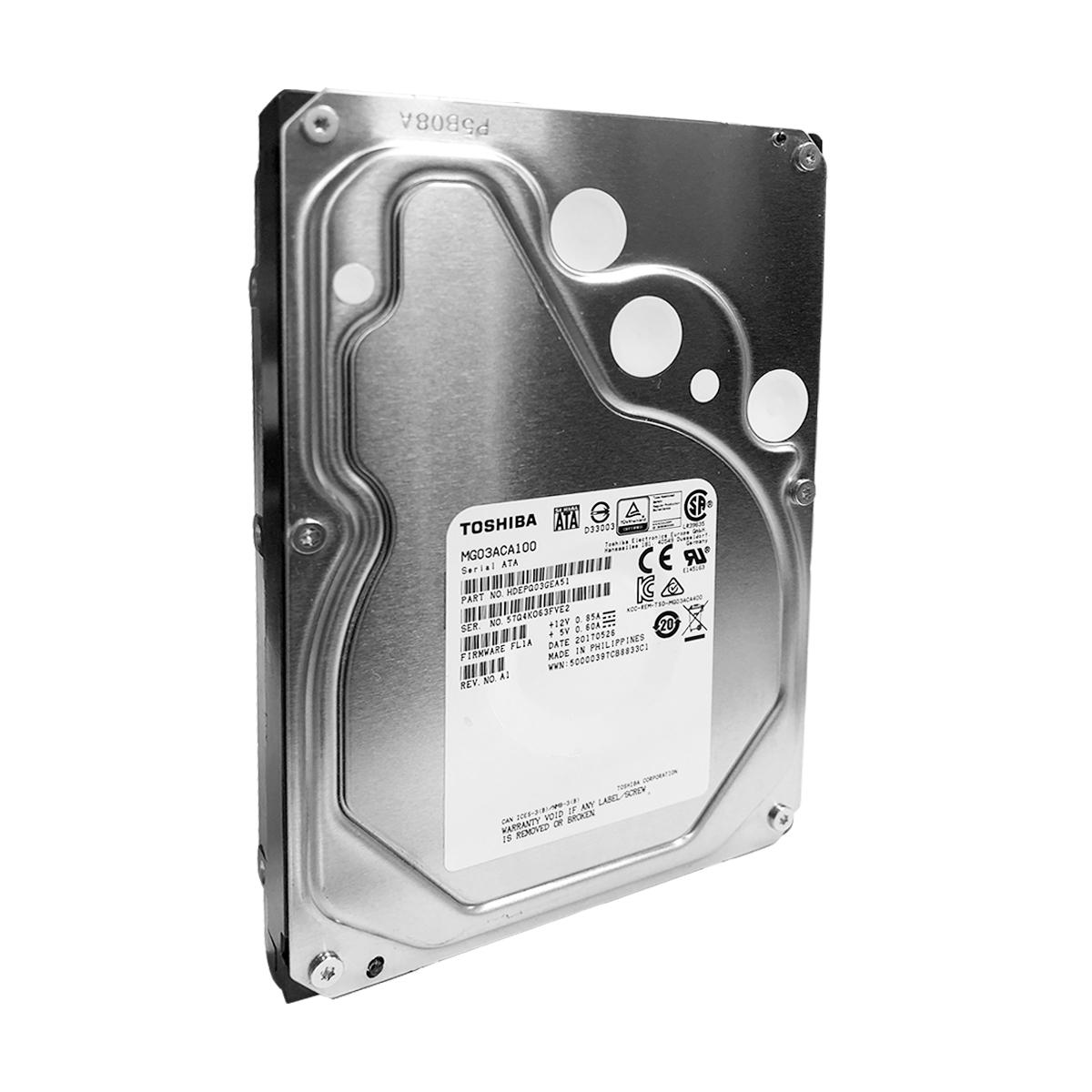 "Hd Toshiba 1TB SATA III ENTERPRISE 3,5"" 7.200RPM 64MB MG03ACA100 24x7"