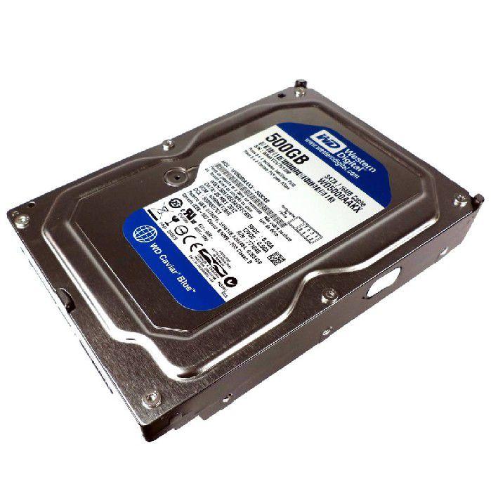 HD Western Digital WD5000AAKX 500GB SATA 7200RPM 16MB
